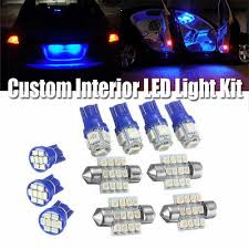 <b>13x Blue</b> LED <b>Light</b> Interior Bulb Package for BMW E36 318i 325i ...