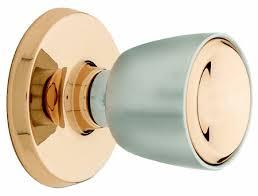 <b>Retro</b> Weiserlock door knobs in satin chrome and <b>copper</b> combo finish