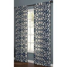 Hidden Tab Curtains Shop Allen Roth Oberlin 84 In Navy Cotton Back Tab Light