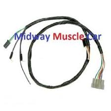 pontiac electrical wiring harness midway muscle car auto trans front console wiring harness 66 67 pontiac gto lemans tempest