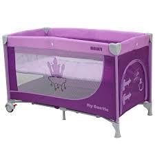 <b>Манеж</b>-кроватка <b>Rant My</b> Castle, розовый, фиолетовый
