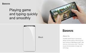 Baseus 3D Surface Screen Protector For Samsung Note 9 0.3mm ...