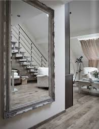 big mirrors wall amazing gray wood flooring design and unusual large wall mirror feat m