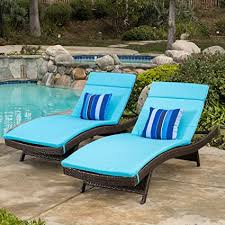 Christopher Knight Home Salem Chaise Lounge ... - Amazon.com