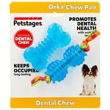 «<b>Игрушка собак</b> PETSTAGES ОРКА косточка, гантель ультра ...
