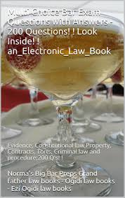 buy pli multistate bar review contracts torts real property multi choice bar exam questions answers 200 questions look inside e book evidence constitutional law property contracts torts criminal law