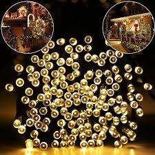 <b>LED Solar</b> String <b>Lights</b>, 40ft <b>100 LED</b> Waterproof <b>Solar</b> Decoration ...