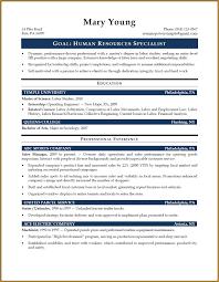 sample resume   jumbocover infohr specialist sample resume   resumepower