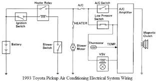 toyota pickup air conditioning wiring diagram  toyota     toyota pickup air conditioning wiring diagram