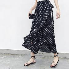 25 Colors <b>2019 Bohemian</b> High Waist Floral Print <b>Summer</b> Skirts ...
