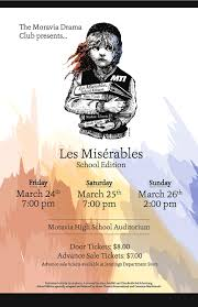 high school musicals moravia high school students perform moravia les mis poster jpg