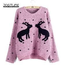 2019 <b>JOGTUME</b> Christmas Sweaters 2017 Autumn <b>Winter Womens</b> ...