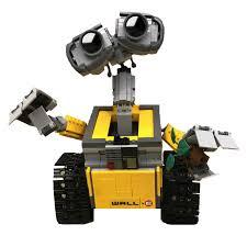 687 Pcs Legoings Ideas WALL E <b>Building</b> Blocks Robot <b>Model</b> ...