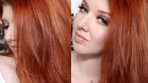 Hair <b>Color</b> Tutorial | My Copper Red Shade Challenge - YouTube