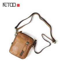 Tas Kulit Slempang <b>AETOO Leather Shoulder</b> Bag Casual ...
