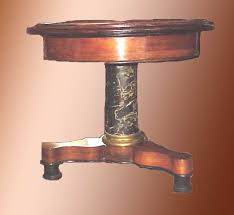 point furniture egypt x: rosewood egyptian marble black marble size quot tall quot across this tri foot base table has an egyptian marble center