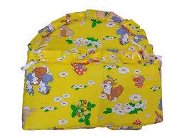 <b>Бортик</b> БазаЛев в кроватку желтый купить в детском интернет ...