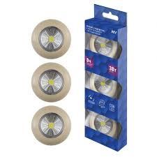 <b>Фонарь</b>-подсветка <b>Pushlight</b> светодиодный самоклеящийся <b>REV</b> ...