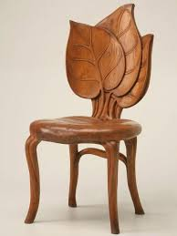art deco style wooden chair natural art deco reproduction furniture