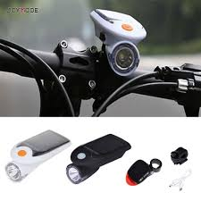 JOYMODE USB Rechargeable <b>Solar Power LED Bike</b> front Light ...