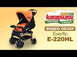 "<b>Прогулочная коляска Everflo</b> E-220HL или ""сальто с коляской ..."