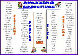 intermediate b analeiva s blog of adjectives personality