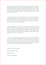 student cover letter sample for recent college graduate cover student cover letter