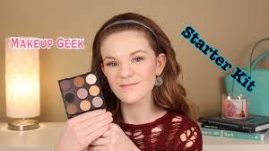 review swatches makeup geek starter kit more