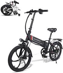 <b>SAMEBIKE</b> Electric Bike <b>48V</b> 10.4AH Lithium <b>Battery</b> with Remote ...