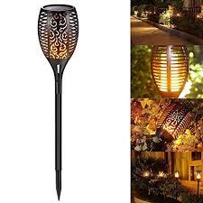 <b>Solar Torch</b> Lights, Vlio <b>Solar</b> Lights <b>Outdoor</b> Waterproof Flickering ...