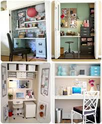 converting closets into offices a pinterest contest at homescom catch office space organized