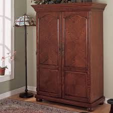 this solid wood computer armoire would be a stunning addition to a home office armoire office desk