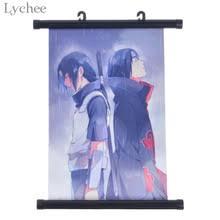 Buy Naruto Itachi Uchiha Wall Poster Canvas ... - fandomexpress.com
