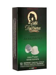 <b>Капсулы</b> Nespresso <b>Don Cortez</b> Armonioso CARRARO 8039165 в ...