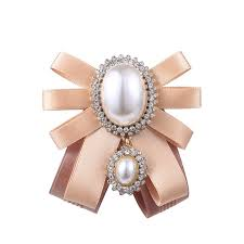 <b>Women's</b> Retro Brooch Exaggeration Personality Bowknow Brooch ...