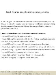 topfinancecoordinatorresumesamples conversion gate thumbnail jpg cb