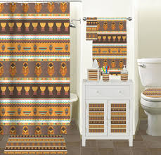 masks bathroom accessories set personalized potty:  african masks bathroom accessories set ceramic
