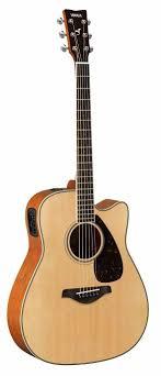 <b>Электроакустическая гитара Yamaha FGX820C</b> Natural, <b>Ямаха</b> в ...