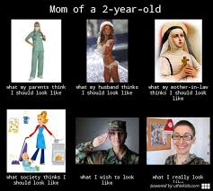 mom of a 2-year-old | What People Think I Do / What I Really Do ... via Relatably.com