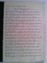 page of my grandmas th grade essay booklet in nazi ur