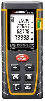 Лазерный <b>дальномер</b> 80 м <b>SNDWAY SW</b>-<b>T80</b> купить в интернет ...
