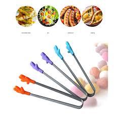 Kitchen Tool Pliers Trumpet Creative Non slip <b>Silicone</b> Clamp <b>Hand</b> ...