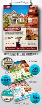 realtor real estate flyer templates by design cloud graphicriver realtor real estate flyer templates miscellaneous events