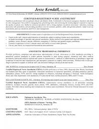 nurse anesthetist cv sample cipanewsletter nurse resume objectives samples registered nurse resume example