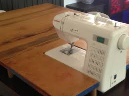 extension table f: diy sewing machine extension table not so wide in the front make one for reg quilt studio pinterest broom handle sewing machine tables and
