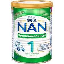 <b>Кисломолочная смесь NAN</b> 1 с рождения 400 гр - купить по цене ...