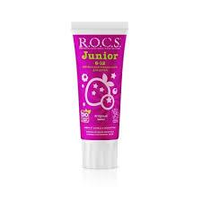 <b>Зубная паста</b> ROCS <b>Junior</b>. Ягодный Микс, 74 гр по лучшей цене ...