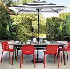 quot kd dining umbrella table