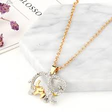 HOMOD <b>2019</b> New <b>Fashion Double</b> Elephant Necklaces For ...