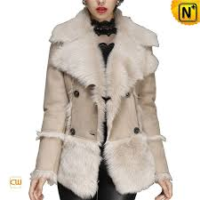 Women Toscana Leather Shearling Jacket CW640211 $1685.89 ...